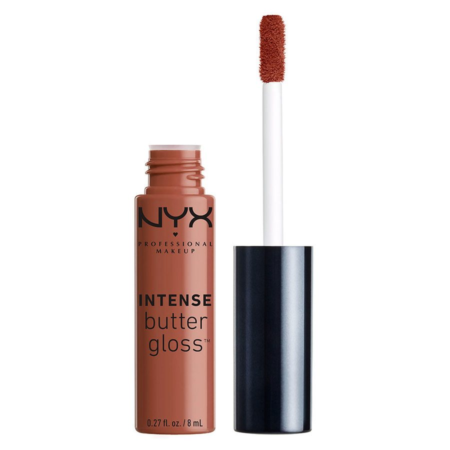 NYX Professional Makeup Intense Butter Gloss Chocolate Crepe 8 ml IBLG06