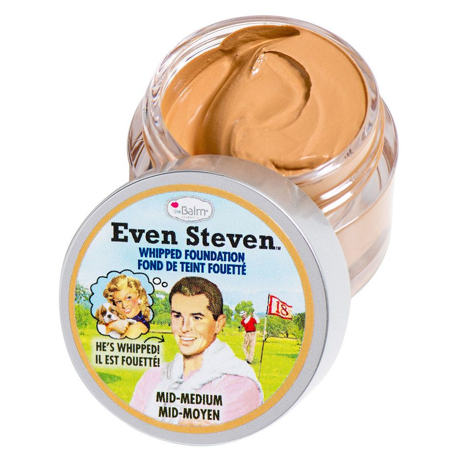 The Balm Even Steven Whipped Foundation Mid/Medium 13,4ml