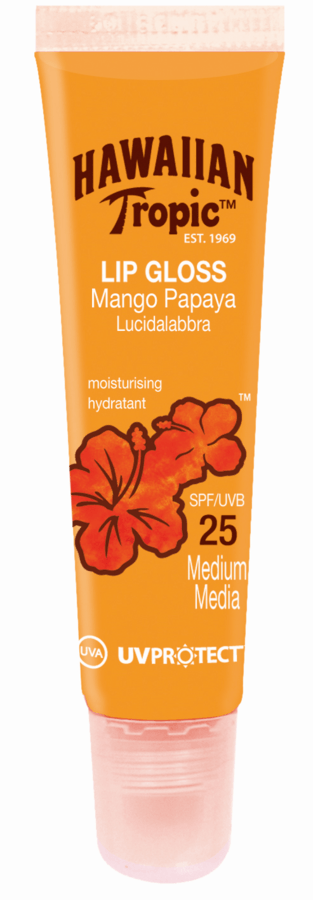 Hawaiian Tropic Lip Gloss Mango Papaya SF25 20 ml