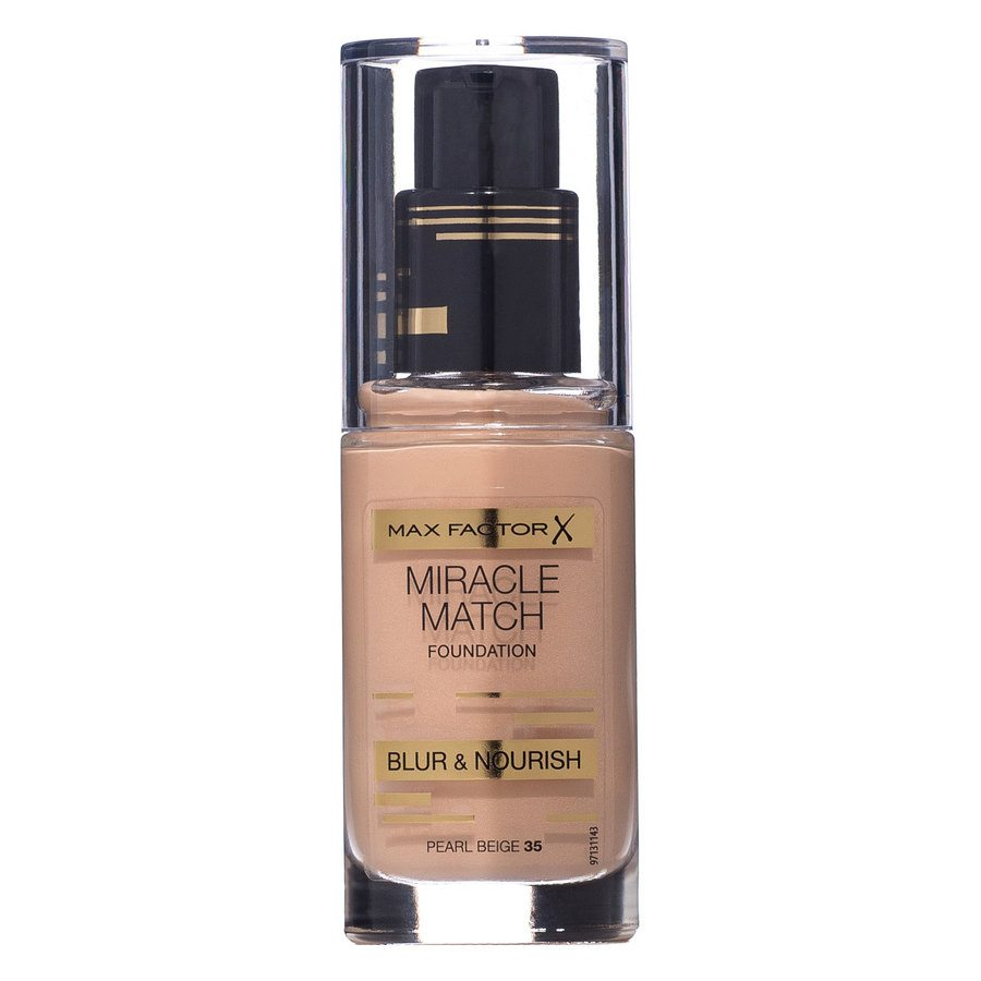 Max Factor Miracle Match Foundation Pearl Beige 035