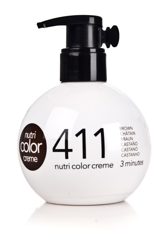 Revlon Professional Nutri Color Creme 250ml #411 Brown