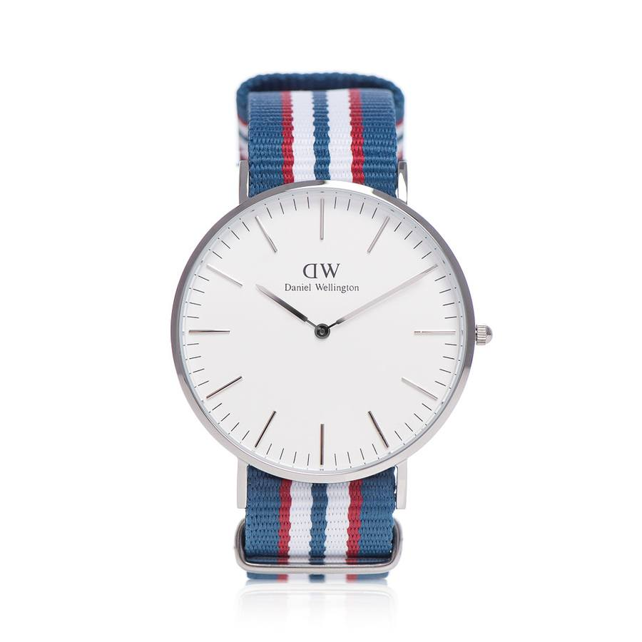 Daniel Wellington Belfast Silver 40mm