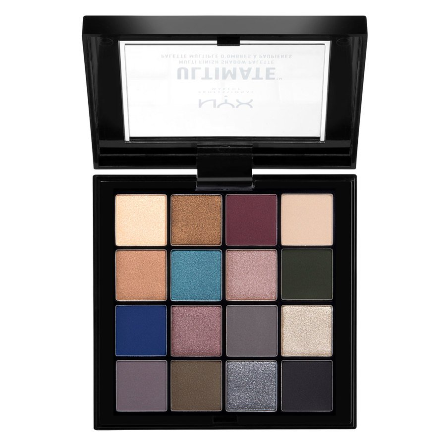 NYX Professional Makeup Ultimate Multi-Finish Shadow Palette 10 Ash 13,3 gr