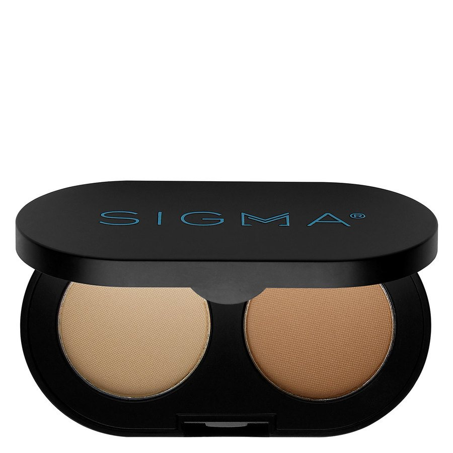 Sigma Color And Shape Brow Powder Duo, Light 3 g