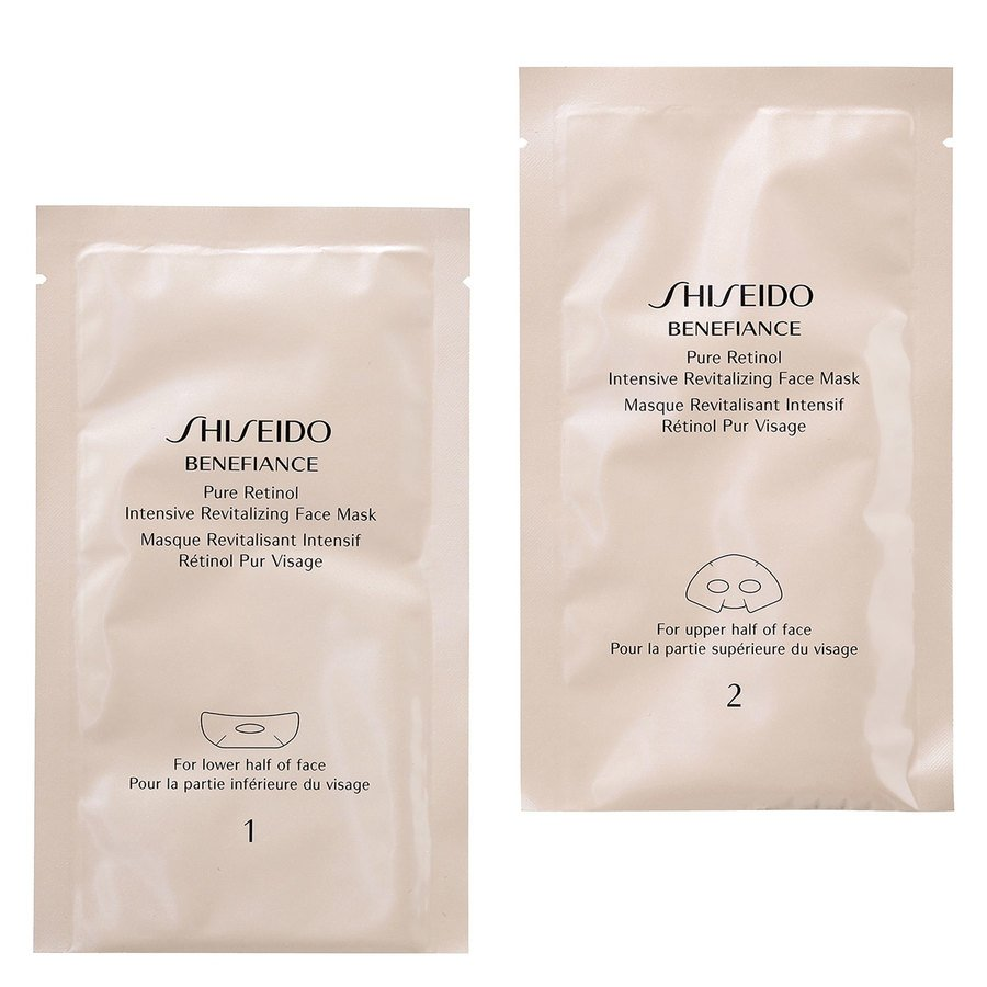Shiseido Pure Retinol Intensive Revitalizing Face Mask 4x2stk
