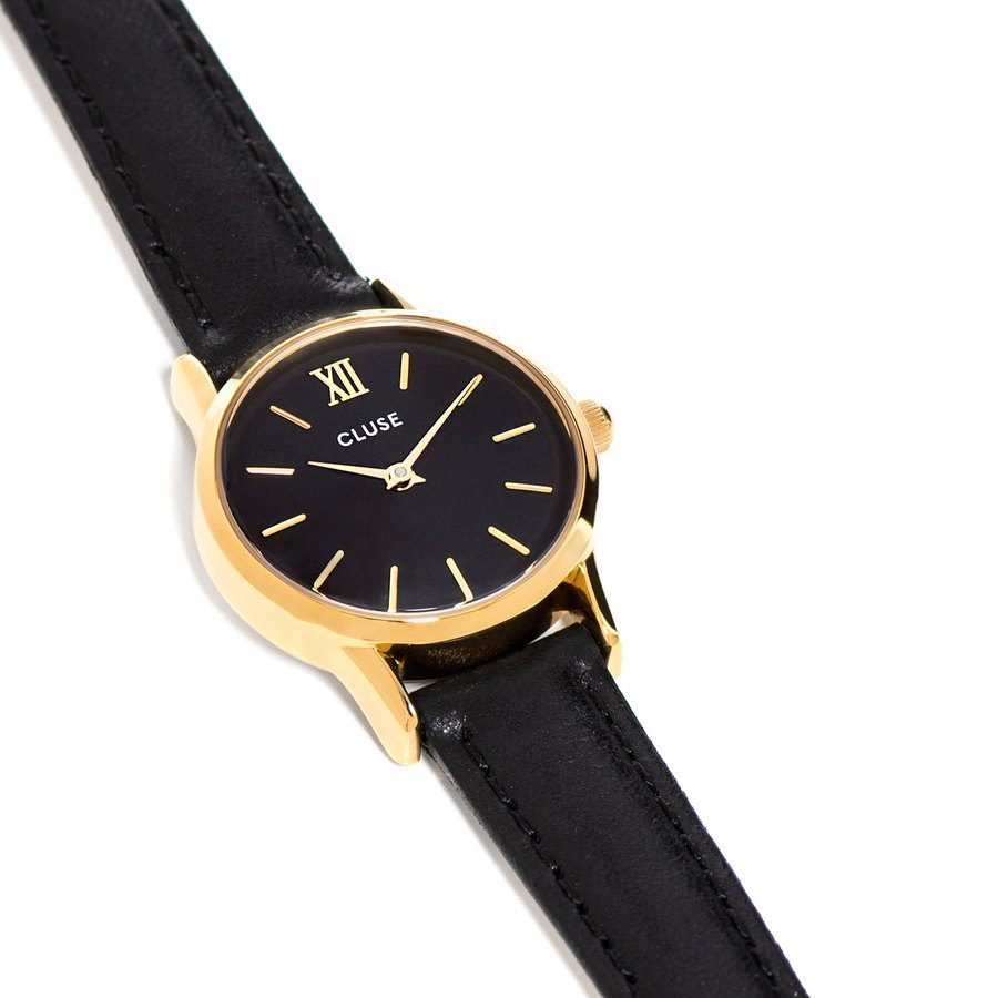 CLUSE La Vedette Gold Black 24mm CL50012