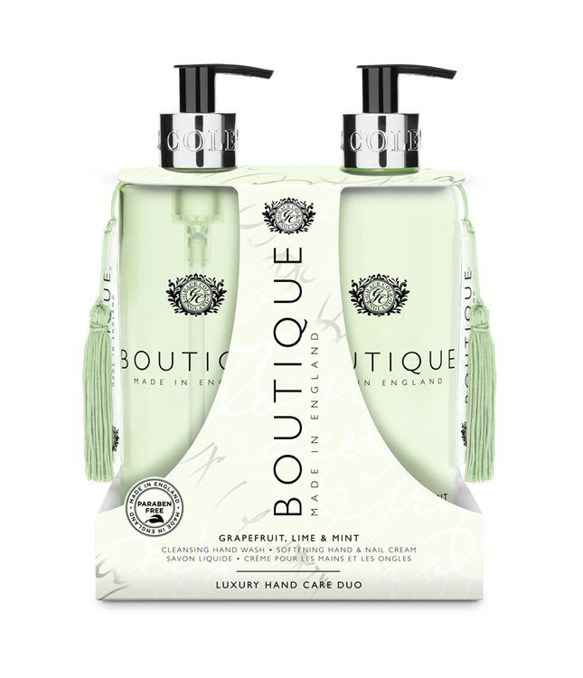 Grace Cole Hand Care Duo Grapefruit, Lime & Mint 2 x 500ml