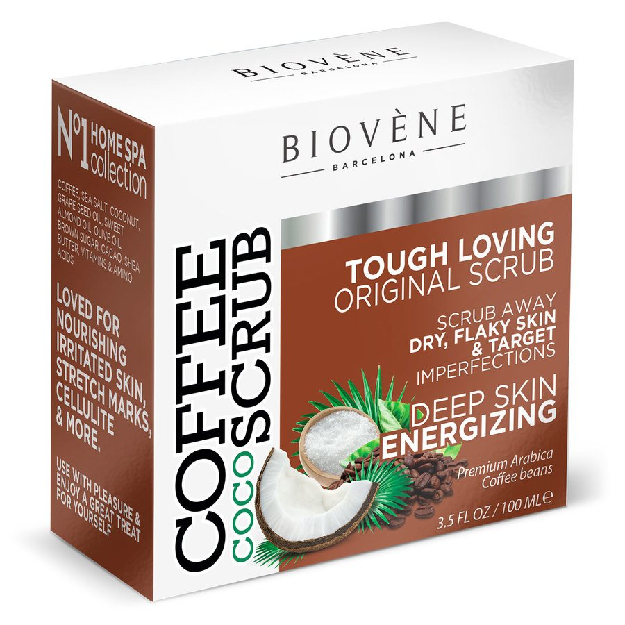 Biovène Coffee Coco Scrub Body & Face Scrub 100ml