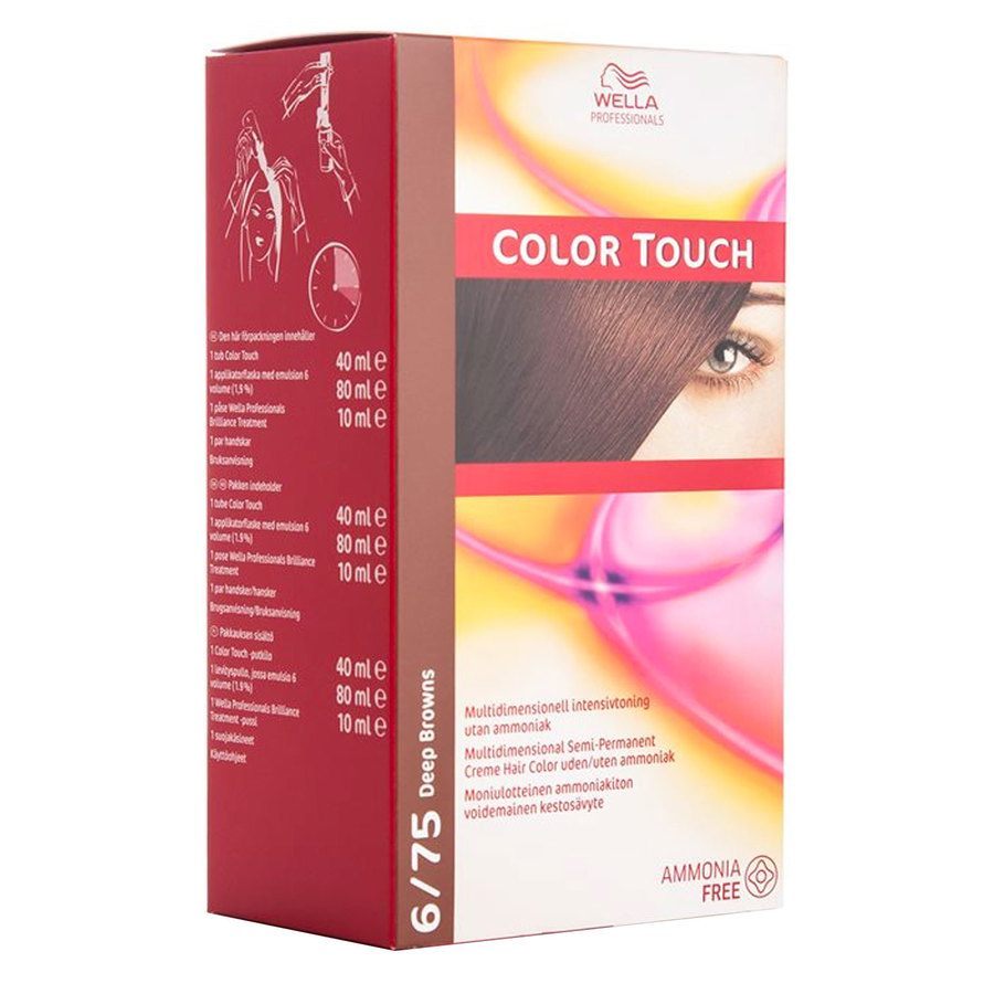 Wella Professionals Color Touch CT OTC 100 ml 6/75 Deep Brown SKAN