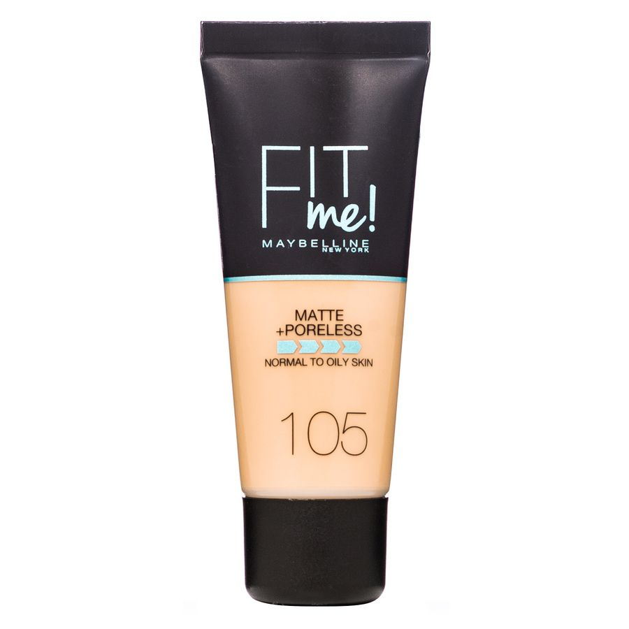 Maybelline Fit Me Makeup Matte + Poreless Foundation 105 30 ml Tube