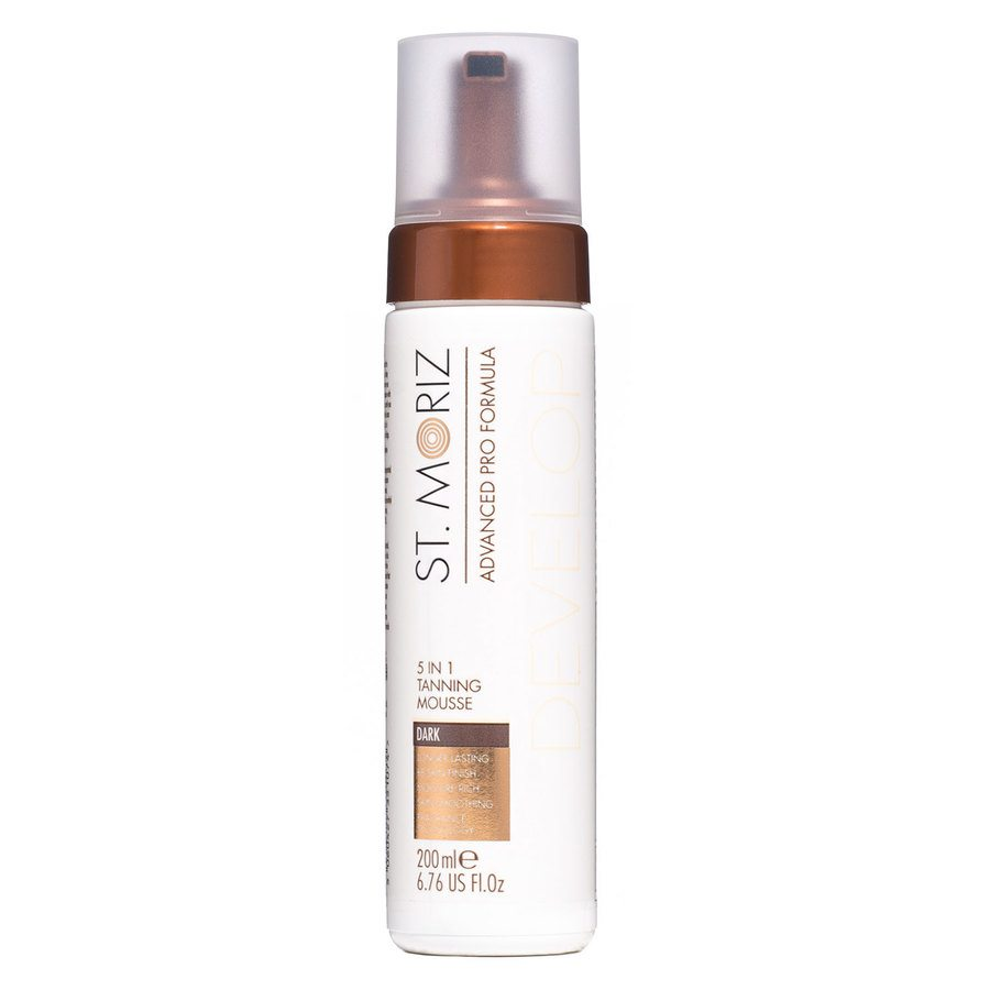 St. Moriz Advanced Pro Formula Develop 5 In 1 Tanning Mousse Dark 200ml