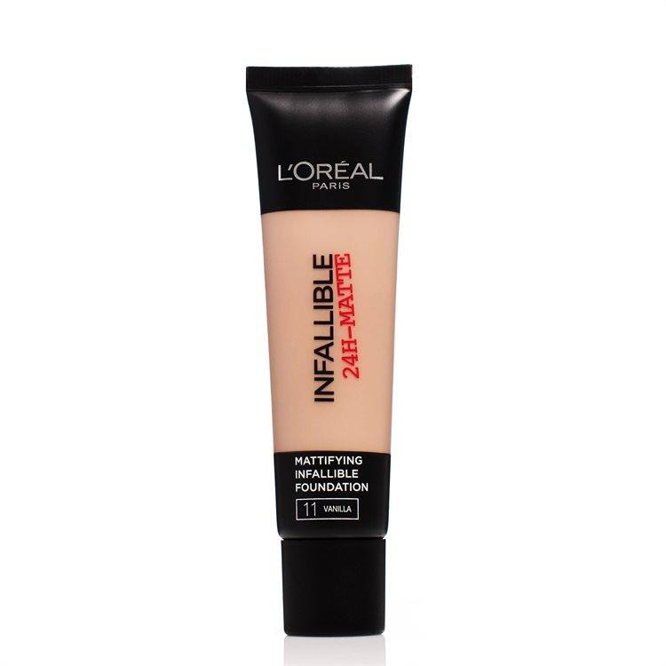 L'Oréal Paris Infallible 24h Matte Foundation #11 Vanilla 30ml