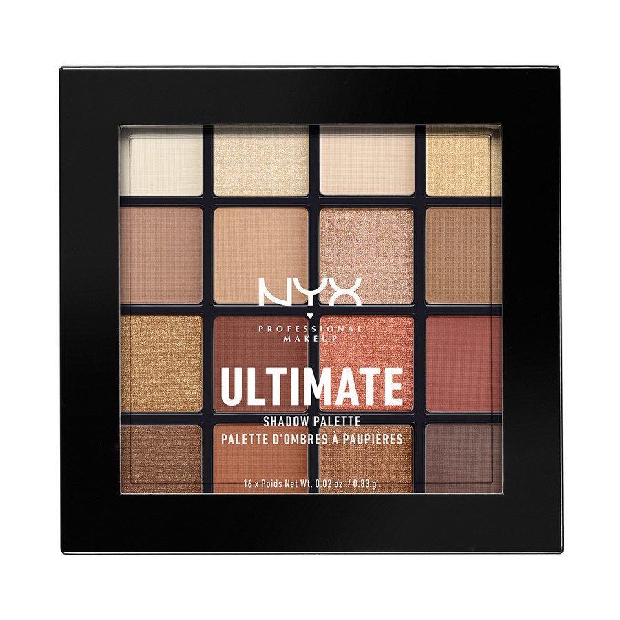 NYX Prof. Makeup Ultimate Eyeshadow Palette Warm Neutrals USP03