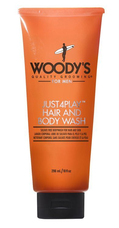 Woody's Just4Play Hair & Body Wash 311g