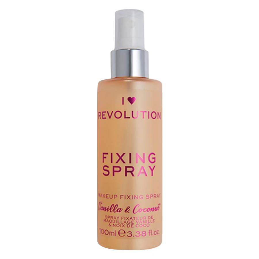 Makeup Revolution I Heart Scented Fixing Spray Vanilla & Coconut 100ml