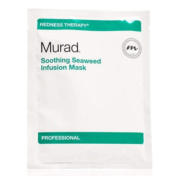 Murad Soothing Seaweed Infusion Mask 15pk & Tonic Water