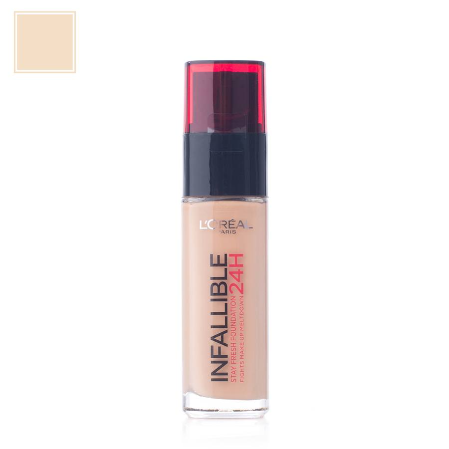 L'Oréal Paris Infallible 24H Liquid Foundation 120 Vanilla