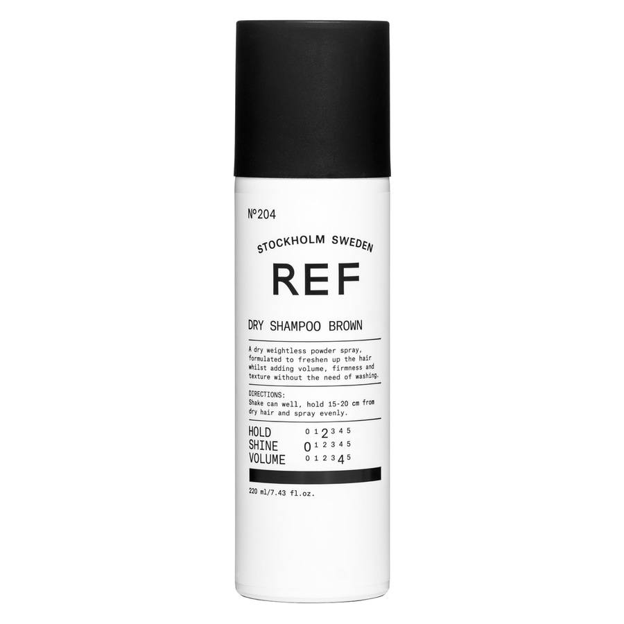 REF Dry Shampoo Brown 220 ml