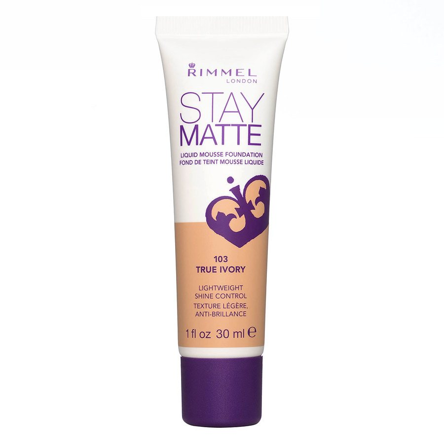 Rimmel Stay Matte Liquid Mousse Foundation True Ivory 103 30 ml