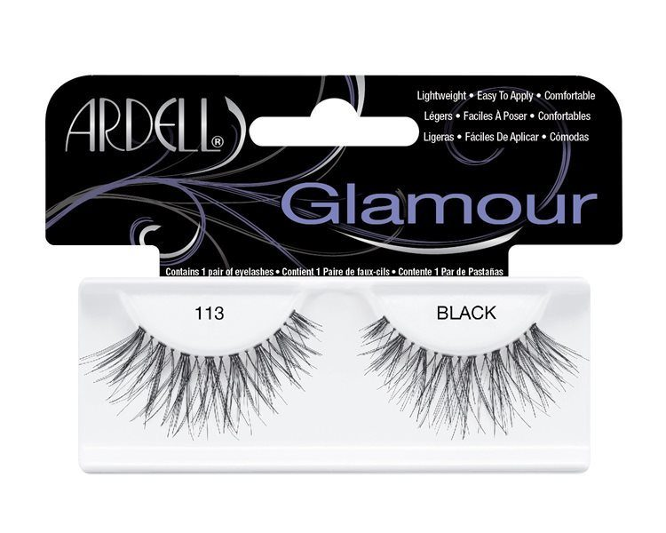 Ardell Glamour Fashion Lashes 113 Black