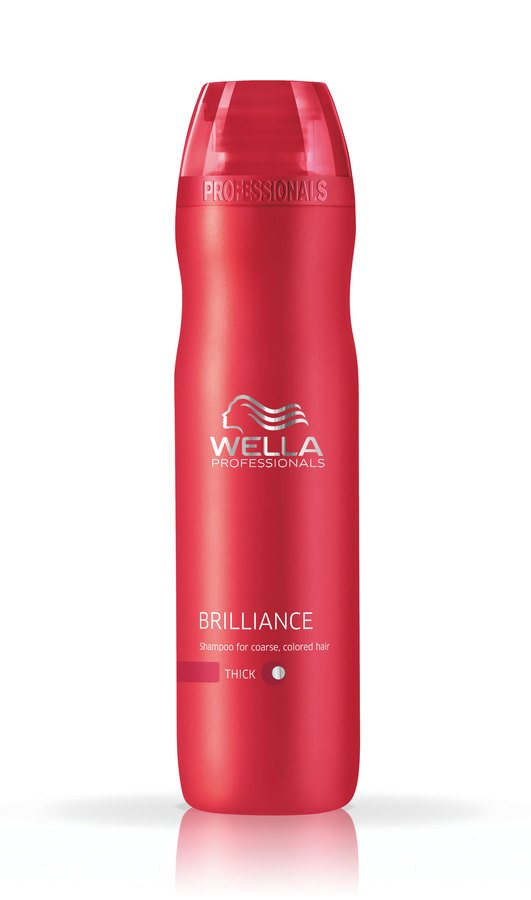 Wella Professionals Brilliance Shampoo Coarse Hair 250ml