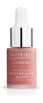 Lumene Invisible Illumination Instant Glow Watercolor Blush 15ml Coral Bloom