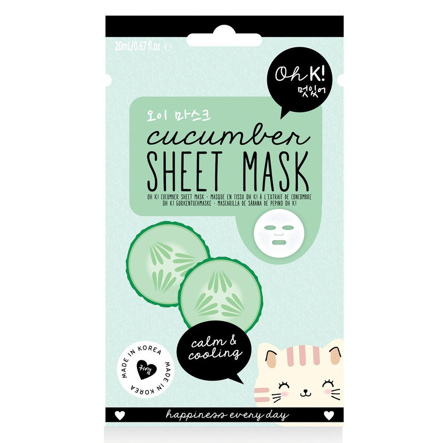 Oh K! Cucumber Sheet Mask 20 ml