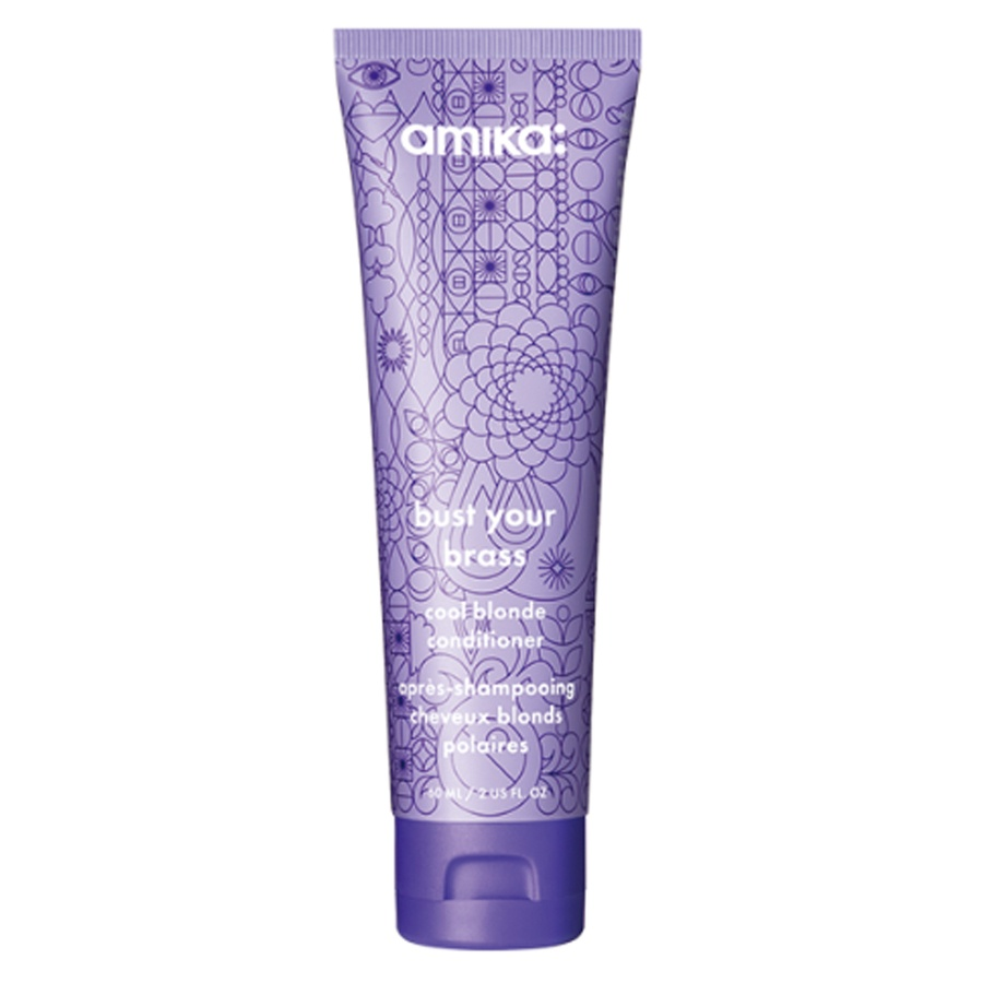 Amika Bust Your Brass Cool Blonde Conditioner 60ml