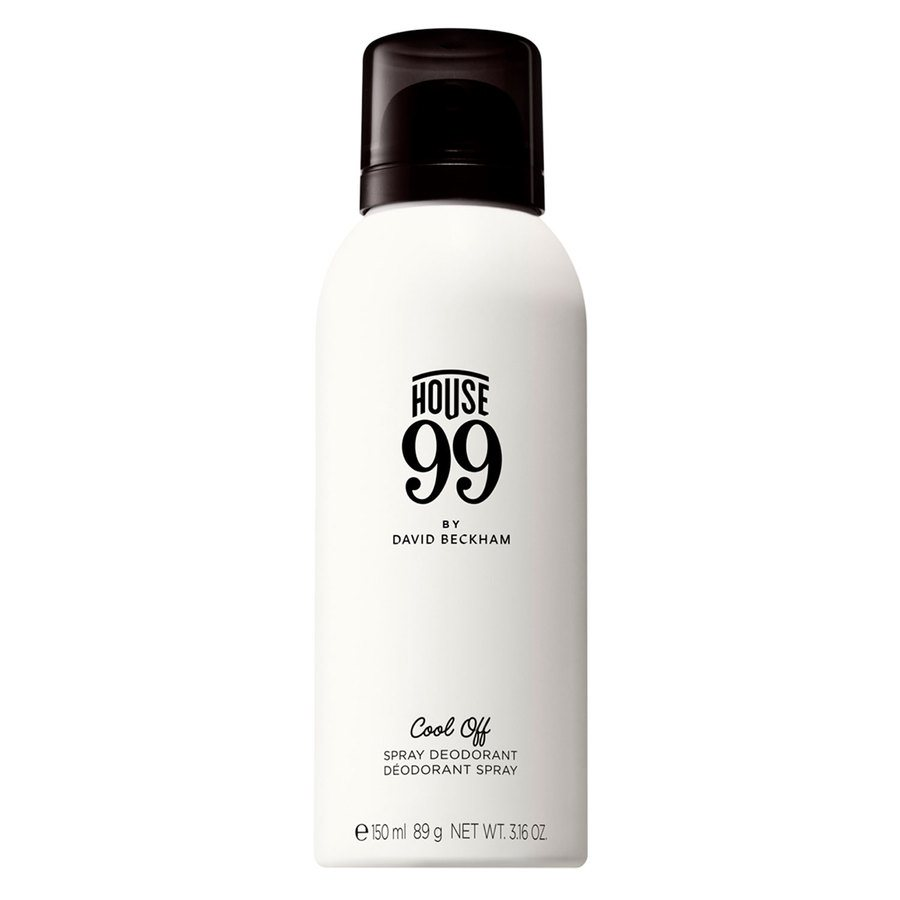 House 99 by David Beckham Cool Off Spray Deodorant 150 ml