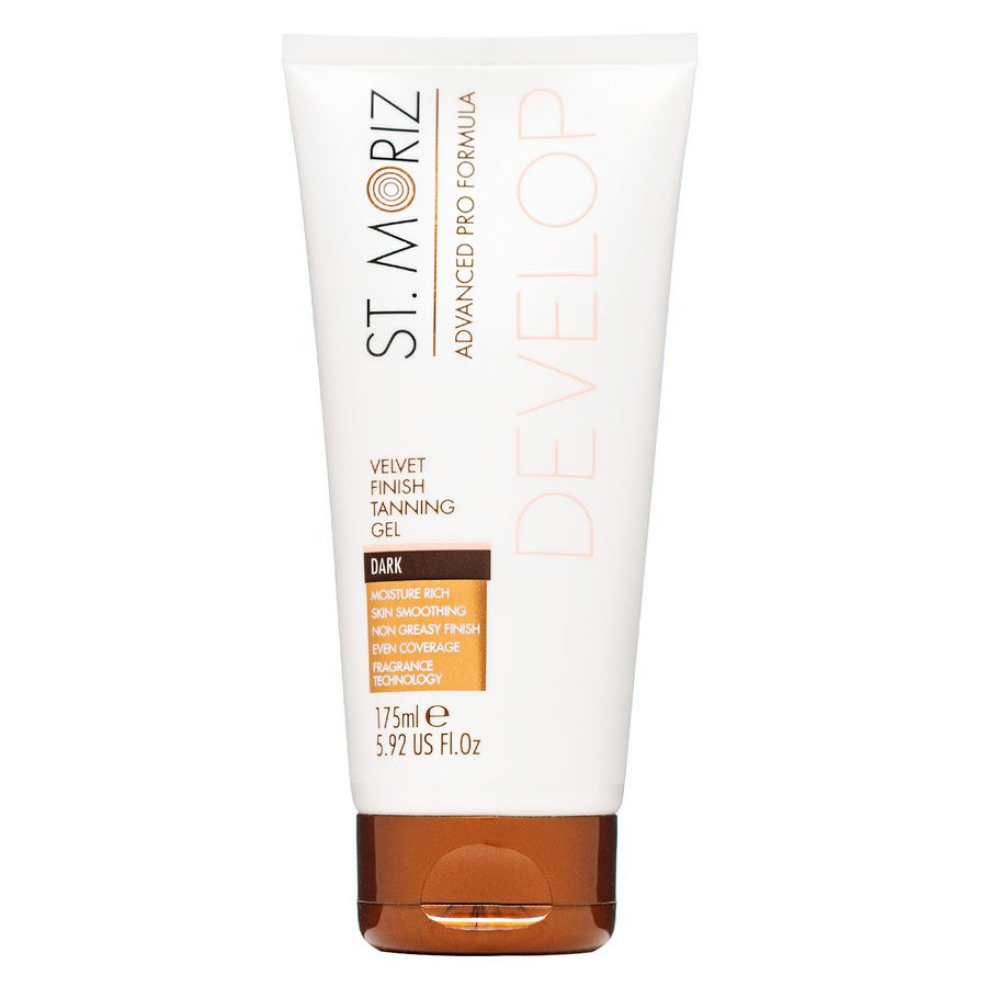 St. Moriz Advanced Pro Formula Develop Velvet Finish Tanning Gel Dark 175ml