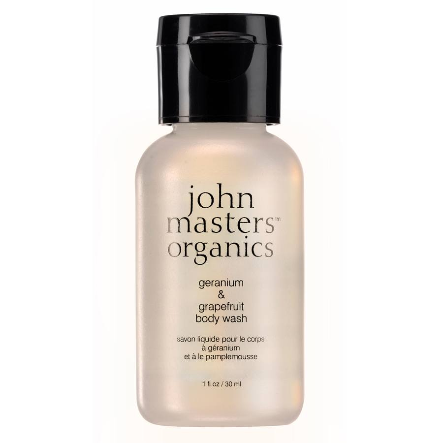 John Masters Organics Geranium Grape Body Wash 30 ml