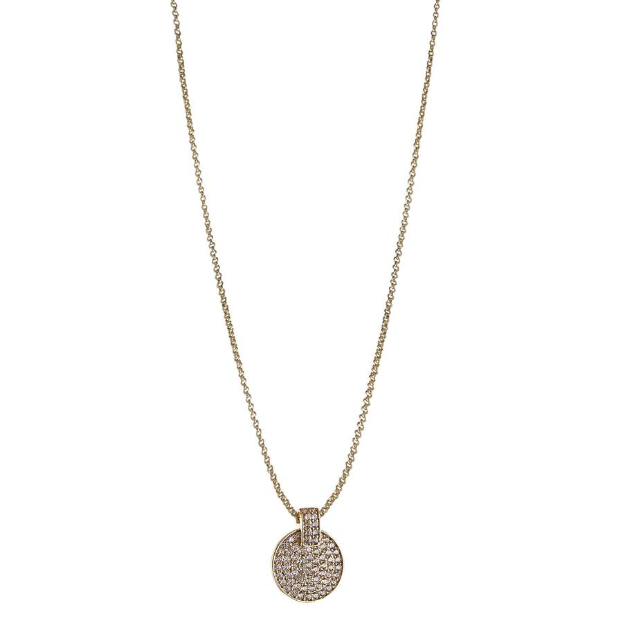 Snö of Sweden Carrie Pendant Neckles Gold/Clear
