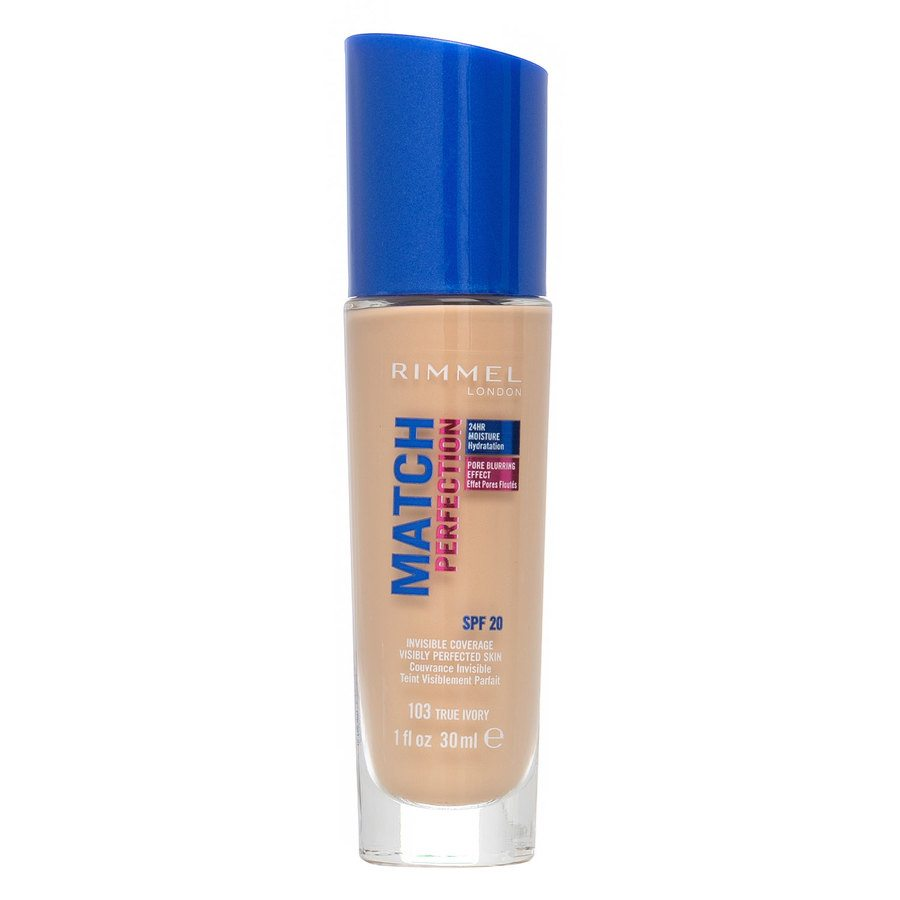 Rimmel Match Perfection Foundation True Ivory 30 ml