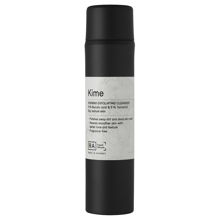 RÅ Organic Skincare (Exp 03.2019) Kime Evening Exfoliating Cleanser 150ml