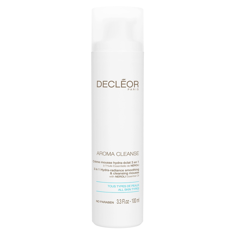 Decléor Aroma Cleanse 3 In 1 Hydra-Radiance Smoothing & Cleansing Mousse 100ml