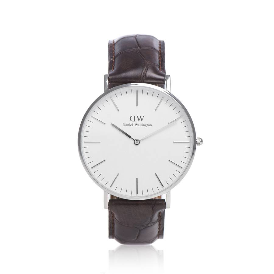 Daniel Wellington York Silver 40mm