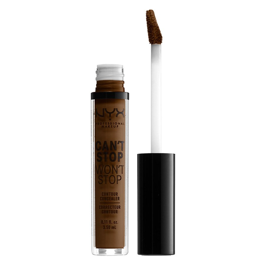 NYX Professional Makeup Can't Stop Won't Stop Contour Concealer Walnut 3,5 ml