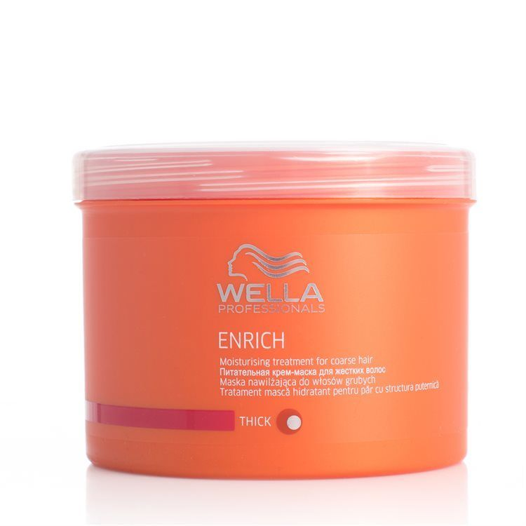 Wella Professionals Enrich Moisturizing Treatment Tykt/Groft Hår 500 ml