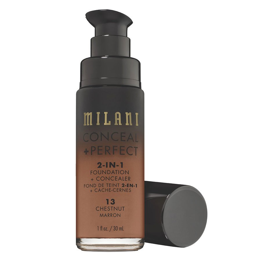 Milani Conceal & Perfect 2 In 1 Foundation + Concealer Chestnut 30ml