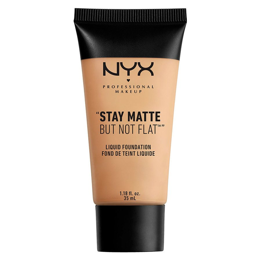 NYX Professional Makeup Stay Matte But Not Flat Liquid Foundation Naturel 35 ml SMF03