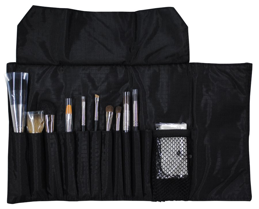 glóMinerals Brush Bag Full Med 12 Børster
