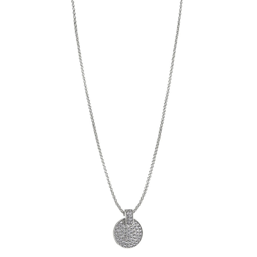 Snö of Sweden Carrie Pendant Neck Silver/Clear