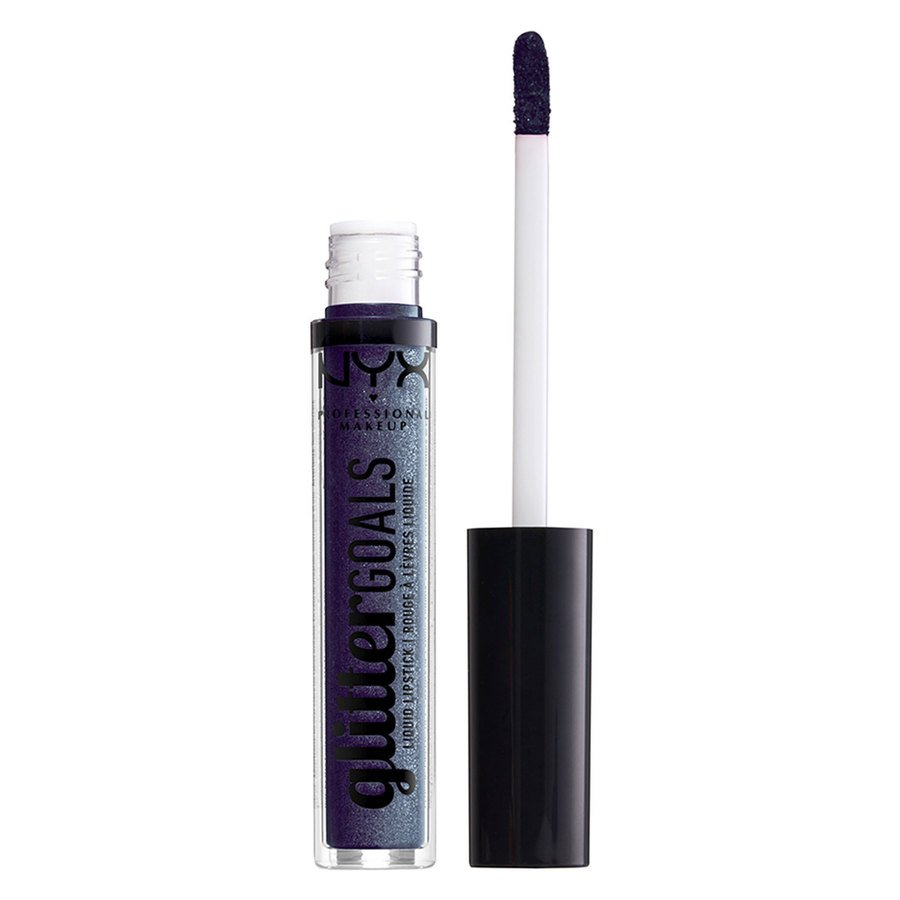 NYX Professional Makeup Glitter Goals Liquid Lipstick 09 Oil Spill 3ml