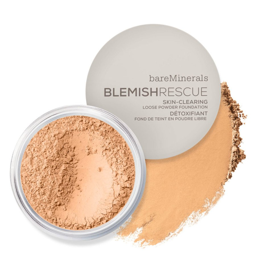BareMinerals Blemish Rescue Skin Clearing Loose Powder Foundation Golden Nude 3.5NW 6g