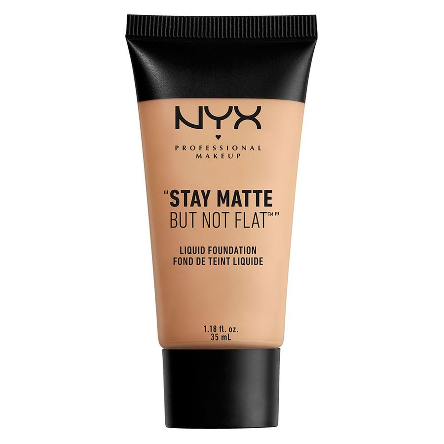 NYX Professional Makeup Stay Matte But Not Flat Liquid Foundation Soft Beige 35ml SMF05