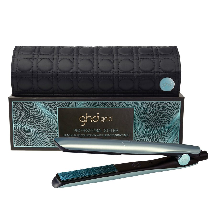 ghd Gold Glacial Blue Styler Gift Set