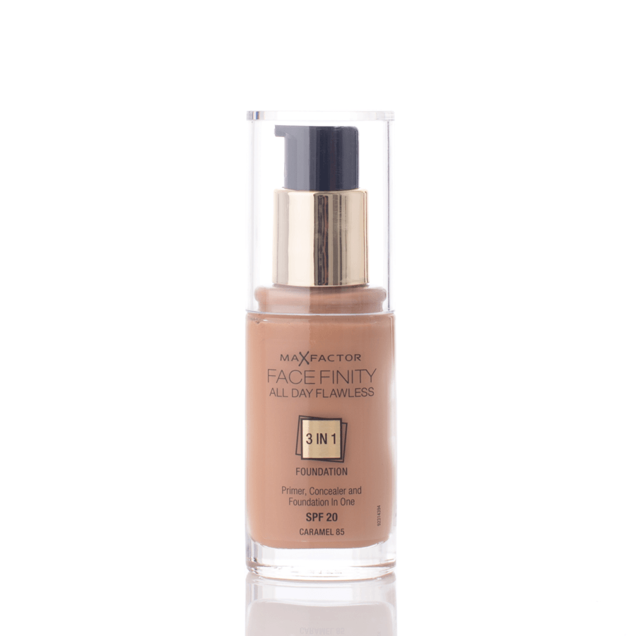 Max Factor Facefinity 3 In 1 Foundation 85 Caramel 30ml