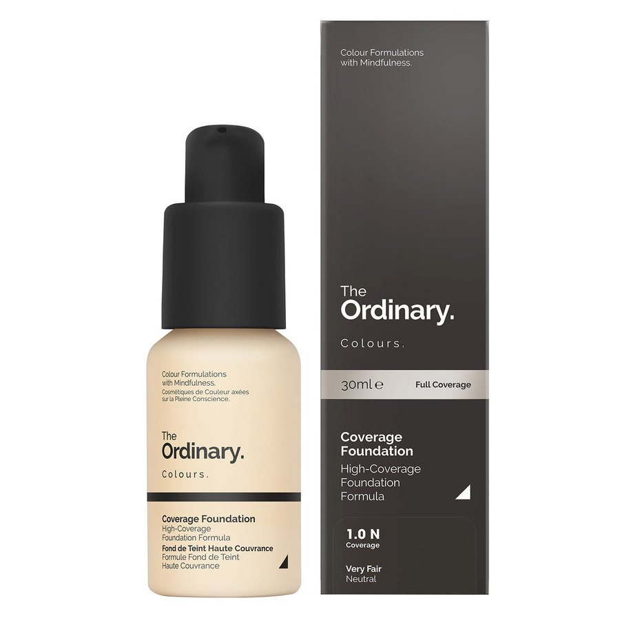 The Ordinary Coverage Foundation 1.0 N very fair Neutral