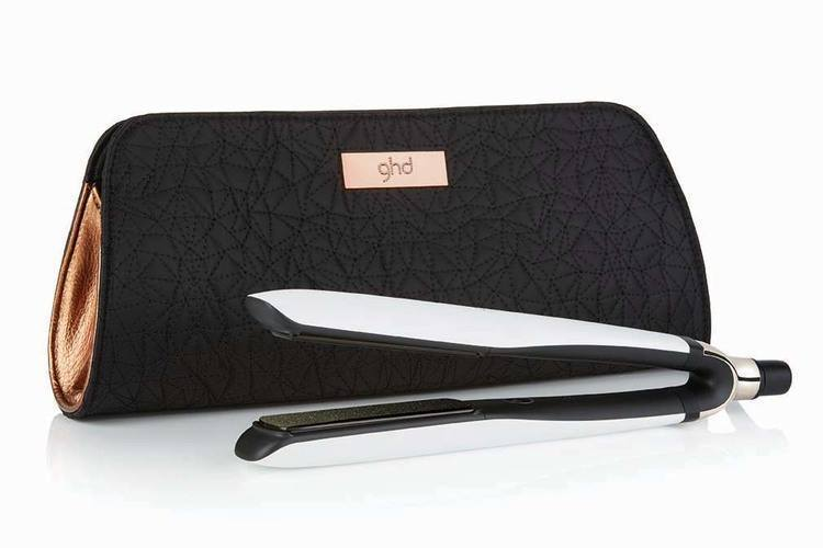 GHD Platinum Styler White Gift Set Edition Copper Luxe Collection