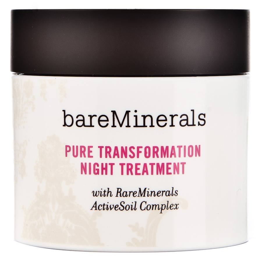 BareMinerals Pure Transformation Night Treatment 4.2g Clear